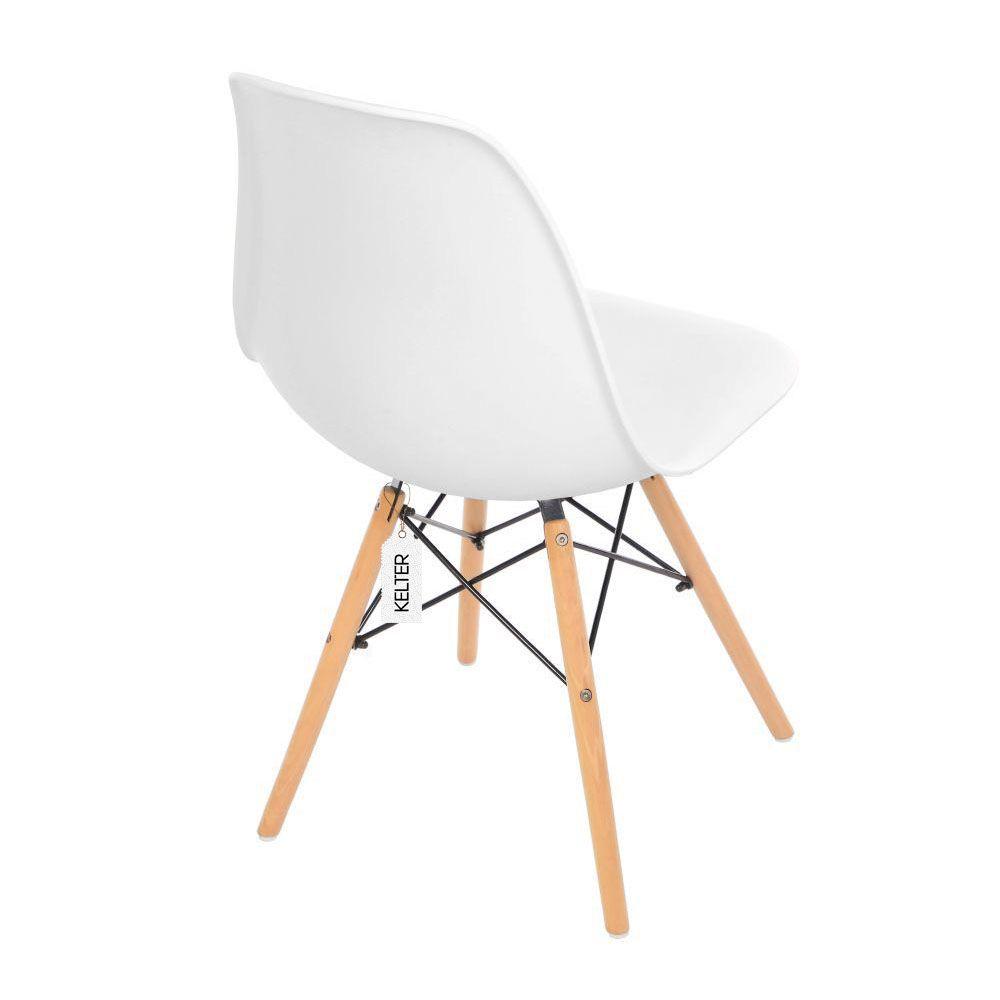 Cadeira Eames Eiffel DSW Kelter KC201 Branca