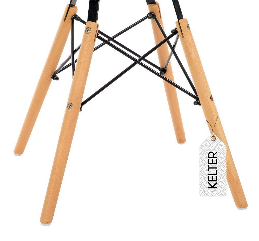 Cadeira Eiffel Eames DSW Kelter KC209 Nude