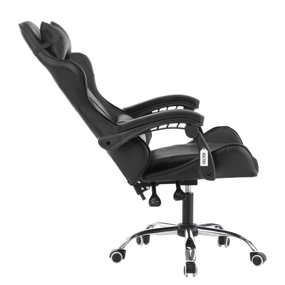 Cadeira Gamer Giratória Kelter Preta V701
