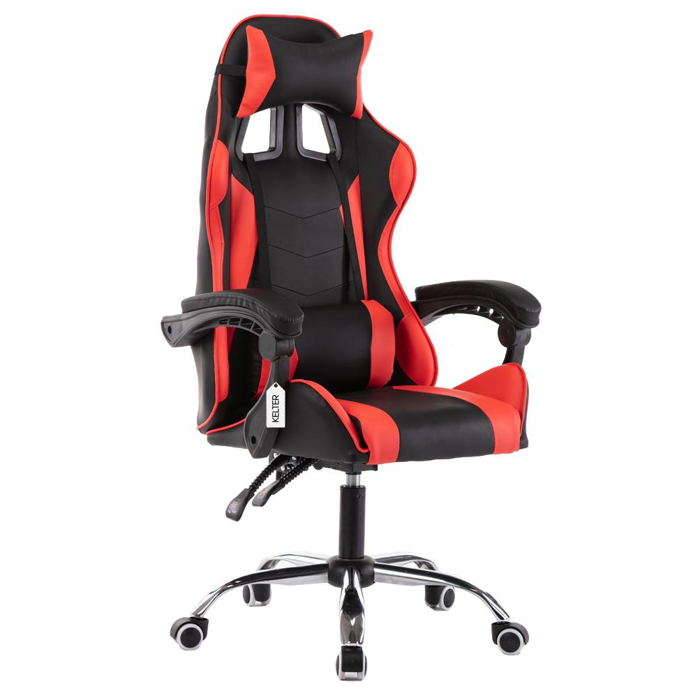 Cadeira Gamer Giratória Kelter Vermelha V703