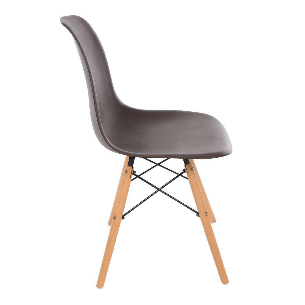 Kit 4 Cadeira Eiffel Sala Jantar Cozinha Escritório Eames Kelter Fendi K-C210