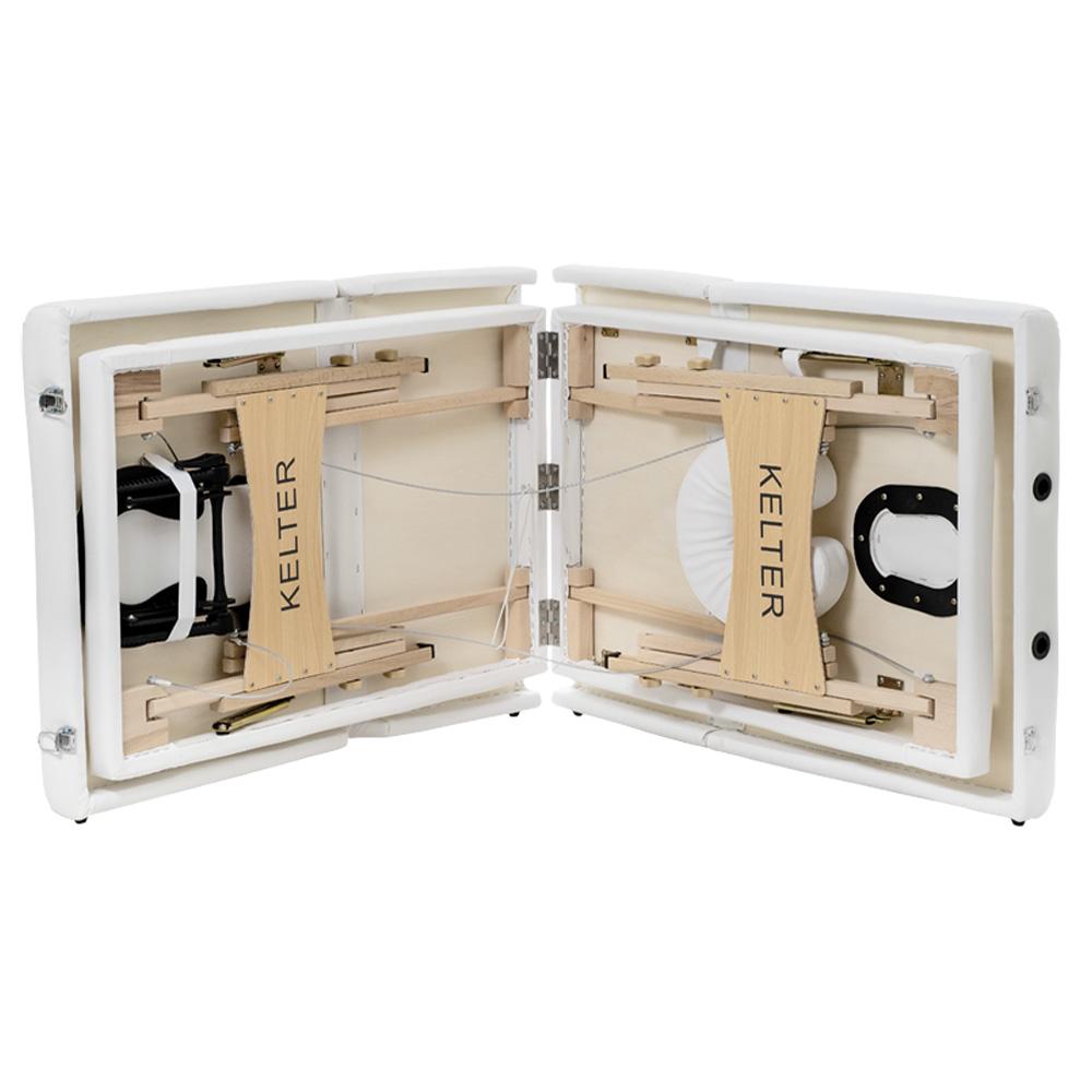 Maca Articulada Portátil Reclinável Kelter M41 Branca