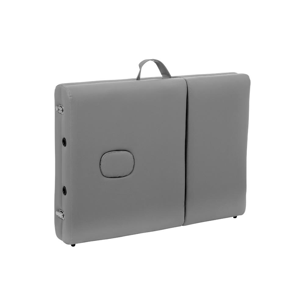 Maca Portátil Dobrável Articulada E Reclinável Kelter M47 Cinza