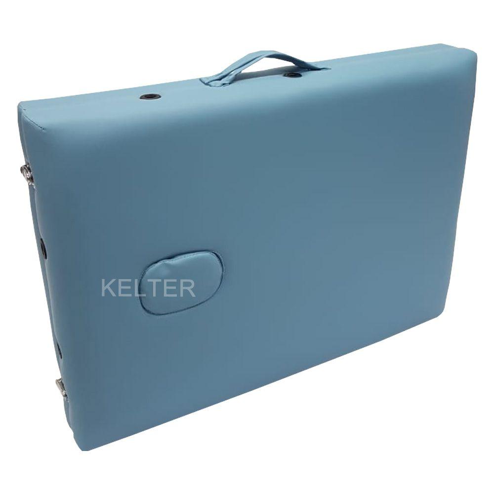 Maca Para Massagem Portátil E Dobrável Kelter M23 Azul