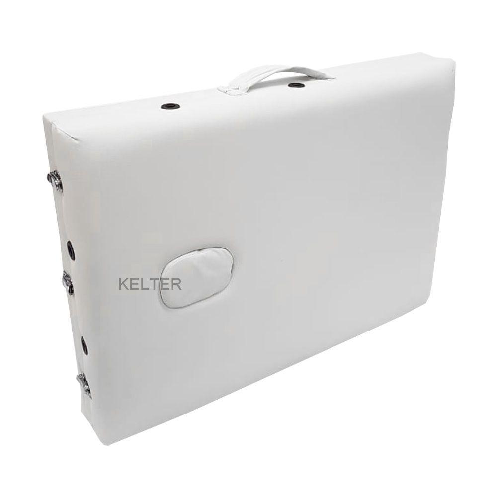 Maca Portátil Divã Dobrável Regulável Kelter M31 Branca