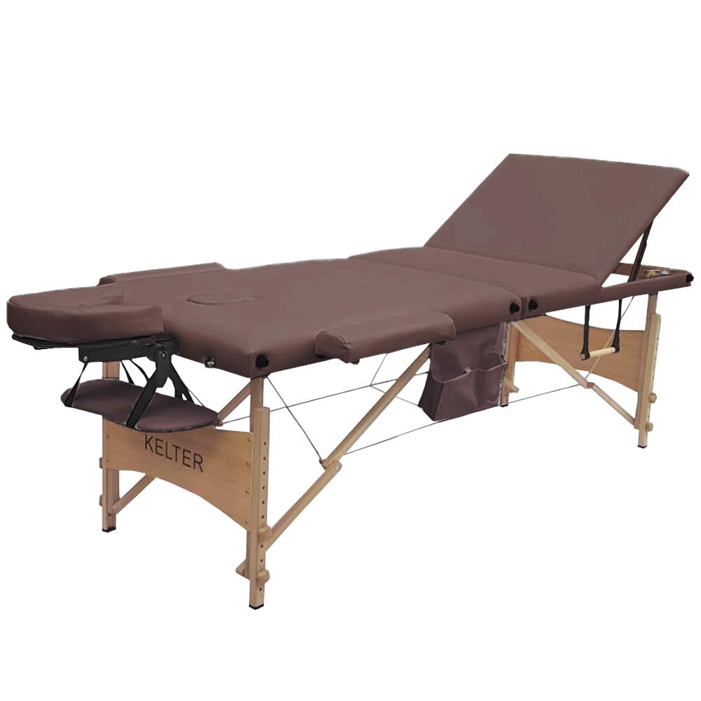 Maca De Massagem Regulável Portátil Kelter M35 Marrom