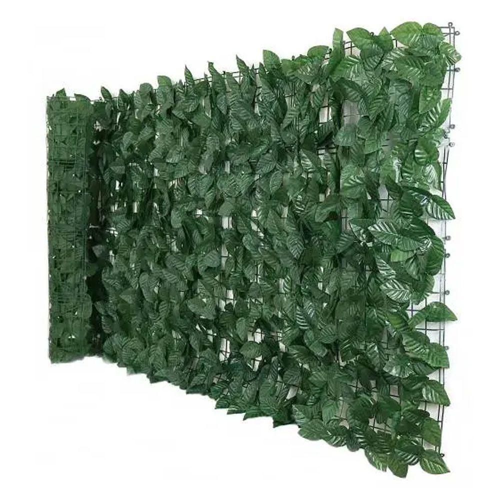 Muro Inglês Artificial Vertical 2x1 Metros Grama Ficus Hera K-G104