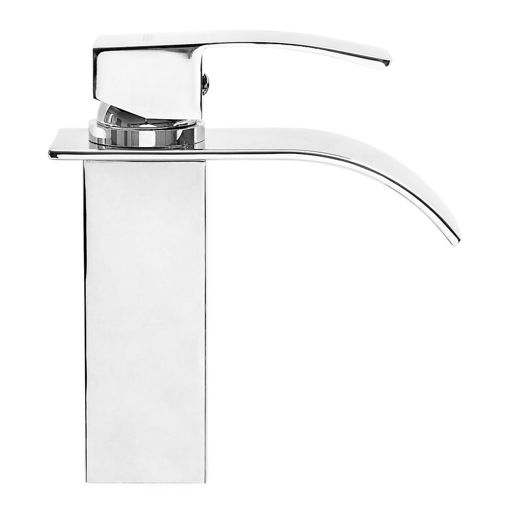Torneira cascata metal monocomando banheiro Kelter KTB1C