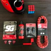 BOX ESPECIAL GUITAR RED