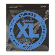 Encordoamento D'addario para Guitarra CHROMES ECG25 - LIGHT .012-.052