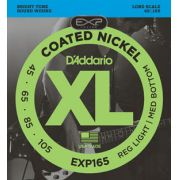 Encordoamento D'addario para Baixo 4c COATED EXP165 Longa .045 .065 .085 .105