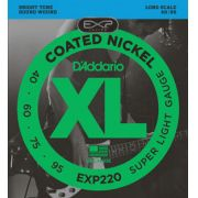 Encordoamento D'addario para Baixo 4c COATED EXP220 Longa .040/95