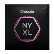 Encordoamento D'addario para Baixo 6c NYXL32130 - Longa Normal/Leve 0.032/0.130