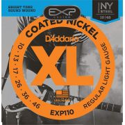 Encordoamento D'addario para Guitarra COATED EXP110 REGULAR LIGHT .010/.046