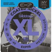 Encordoamento D'addario para Guitarra COATED EXP115  .011/.049
