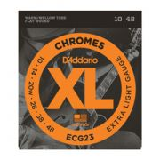 Encordoamento D'addario para Guitarra CHROMES ECG23 -EXTRA LIGHT .010/.048