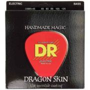 Encordoamento p/Baixo DR STRINGS 5C Dragon Skin Clear Coated Bass 45/125 DSB5-45