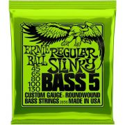Encordoamento p/Baixo Ernie Ball Regular Slinky 045-130 5c -P02836
