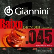 Encordoamento p/Baixo Giannini 4c .045 - GEEBRS