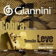 Encordoamento p/Cavaquinho Giannini Nickel Leve - GESCL