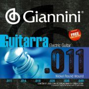 Encordoamento p/Guitarra Giannini .011 Nickel - GEEGST.11