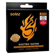 Encordoamento p/Guitarra SOLEZ DLP 0.10 SLG10
