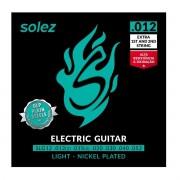 Encordoamento p/Guitarra SOLEZ DLP 0.12 SLG12