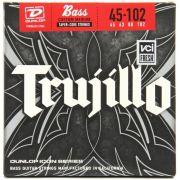 Encordoamento para Baixo 4c Dunlop 0.45 Robert Trujillo