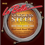 Encordoamento para Baixo 5c Labella 0.40 Stainless Steel  M42B