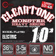 Encordoamento para Guitarra .010 Cleartone Monster Heavy 10-46