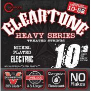 Encordoamento para Guitarra .010 Cleartone Monster Heavy Hibrida 10-52