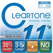Encordoamento para Guitarra .011 Cleartone Nickel Plated Medium 9411