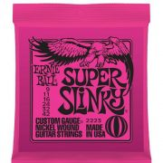Encordoamento para Guitarra Ernie Ball .009 Super Slinky