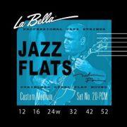 Encordoamento para Guitarra Labella .012  JAZZ FLATS 20PCM
