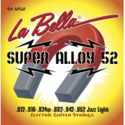 Encordoamento para Guitarra Labella .012 Super Alloy 52