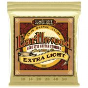 Encordoamento para Violão Aço Ernie Ball Earthwood .010 Extra Light