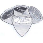 Pack c/4 Palheta Fender Stainless Steel - Media