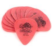 Pack 10 Palhetas Dunlop TORTEX 0,50MM - Vermelha