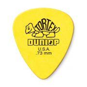 Palheta Dunlop Tortex 0,73MM - Amarela