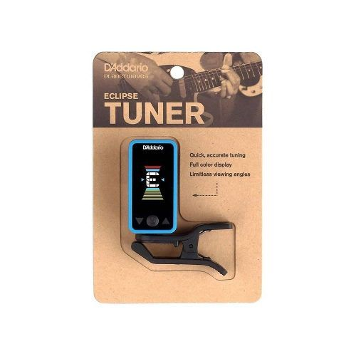 Afinador Digital D'Addario Eclipse Turner PW-CT-17BU