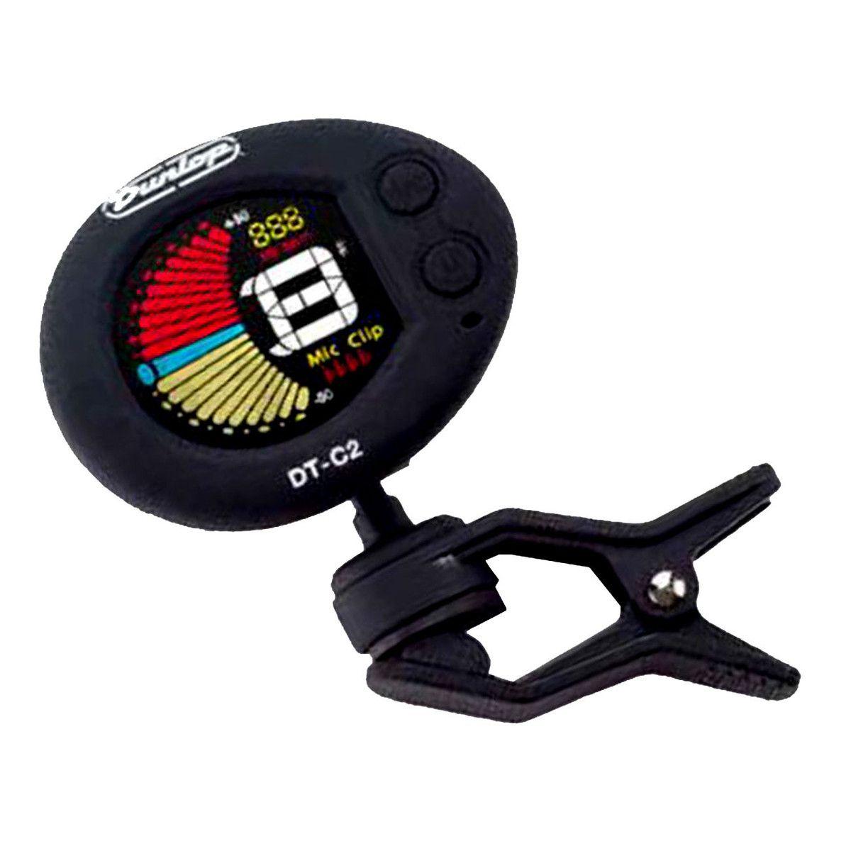 Afinador Dunlop Deluxe Clip-on tuner DT-C2