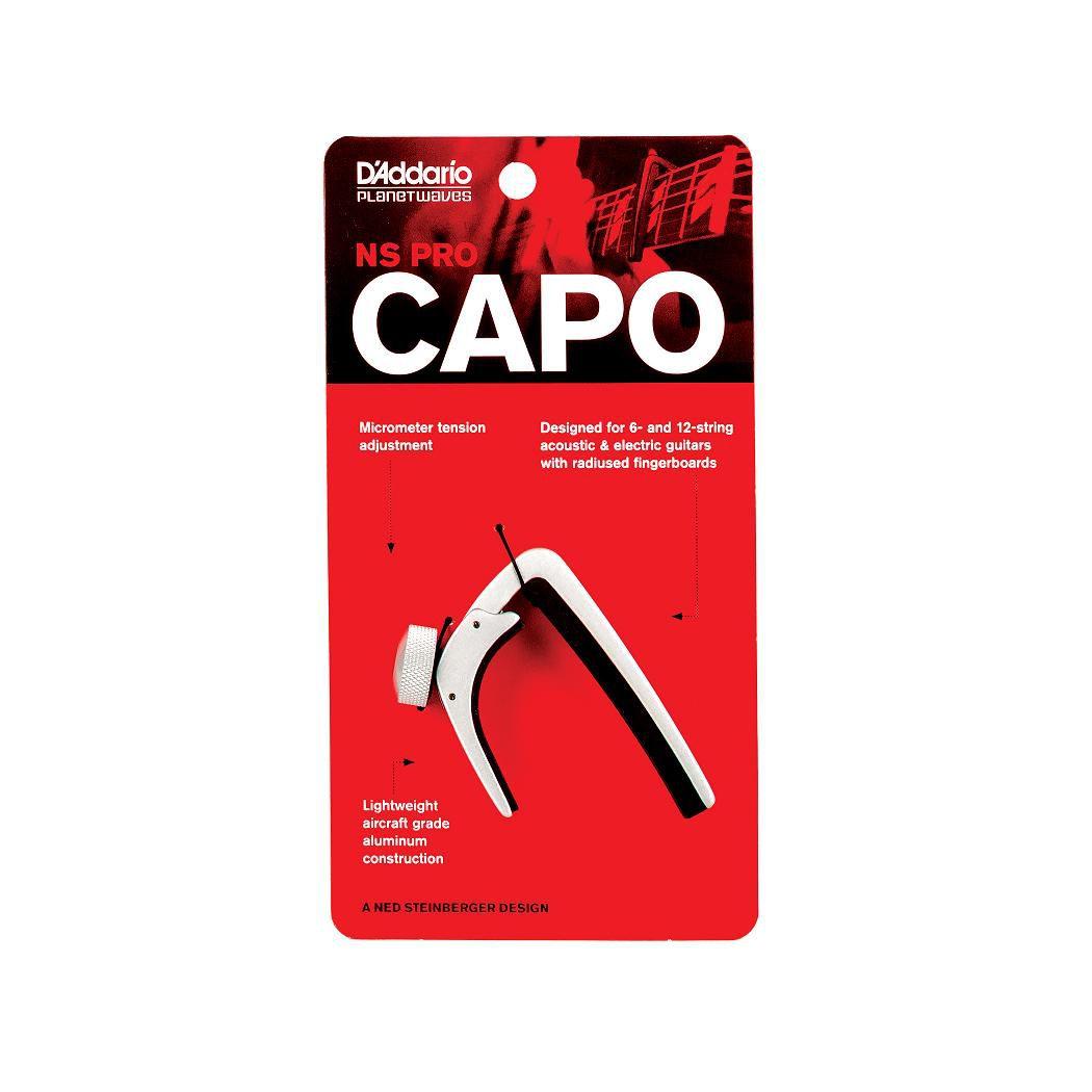 Capotraste D'addario NS CAPO PW-CP-02S