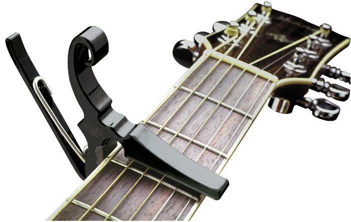 Capotraste para Guitarra  Kyser KGEBA Black