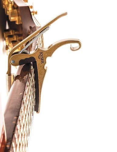 Capotraste para Violão Aço Kyser KG6GA GOLD