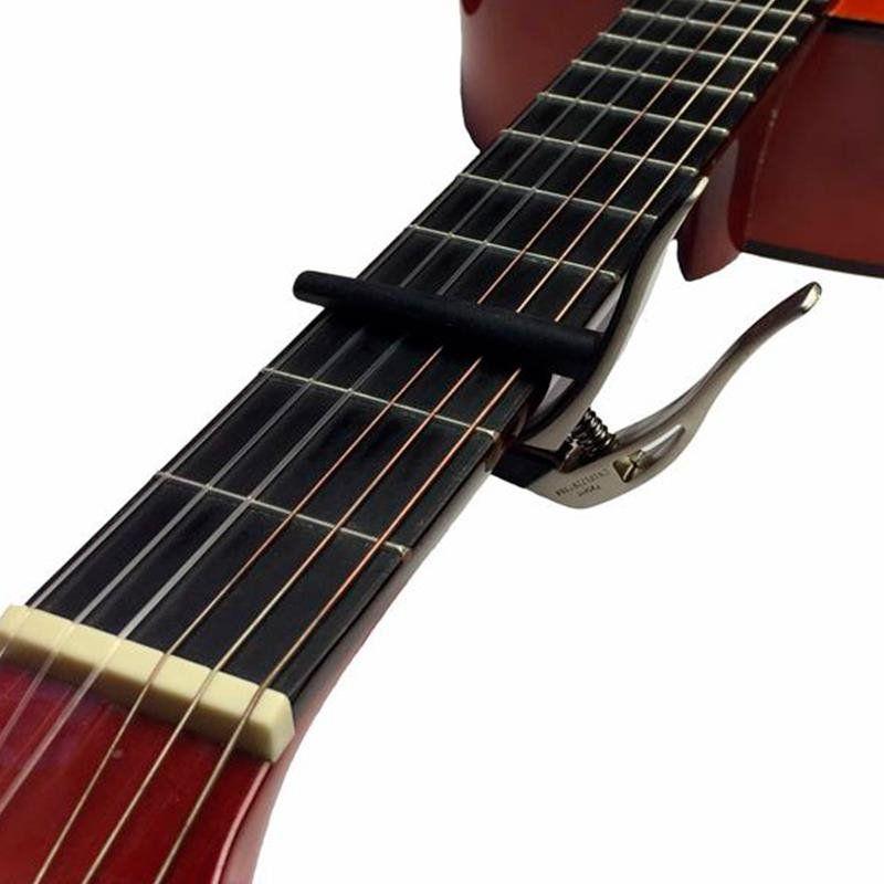 Capotraste STAGG p/Guitar/Violão SCPX-FL BK