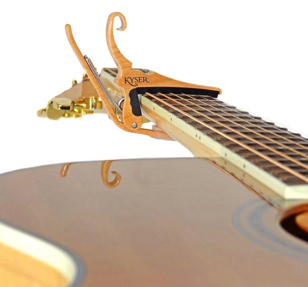 Capotraste para Violão Aço Kyser KG6MA Maple