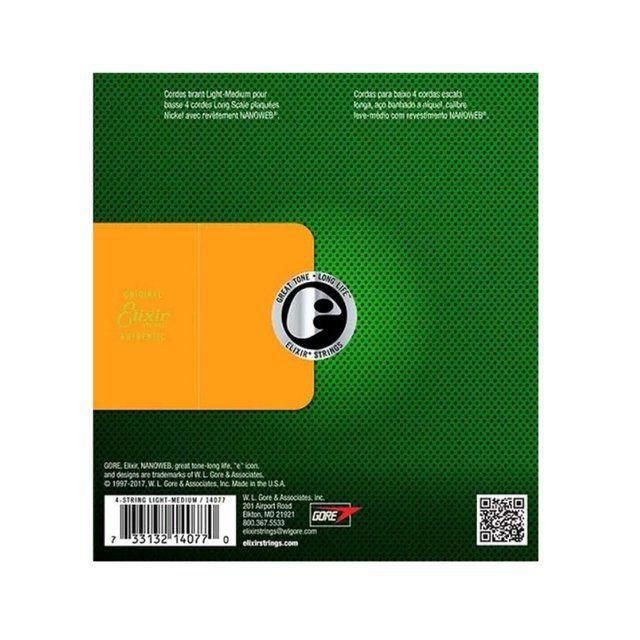 Corda Avulsa para Baixo 6a Elixir . 032 MEDIUM/L.S  - Nanoweb