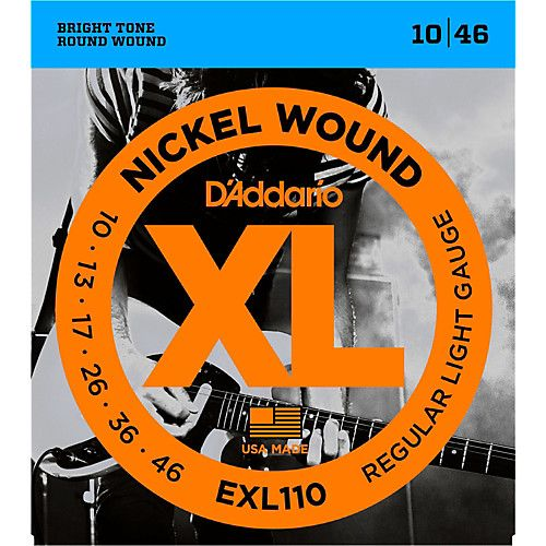 Encordoamento D'addario para Guitarra EXL110-B Light .010/046