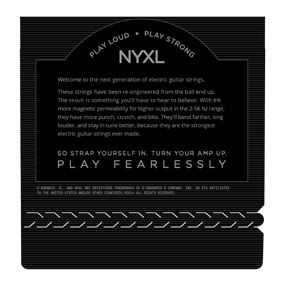 Encordoamento D'addario para Guitarra NYXL-0942 SUPER LIGHT