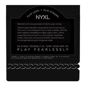 Encordoamento D'addario para Guitarra NYXL-1149  Medium